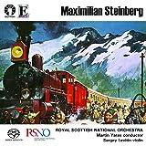 "Maximilian Steinberg: Violin Concerto, Symphony No. 4 ""Turksib"""