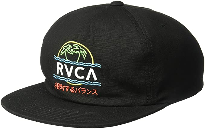 Amazon.com  RVCA Men s VAKAY Snapback HAT 786202400c56