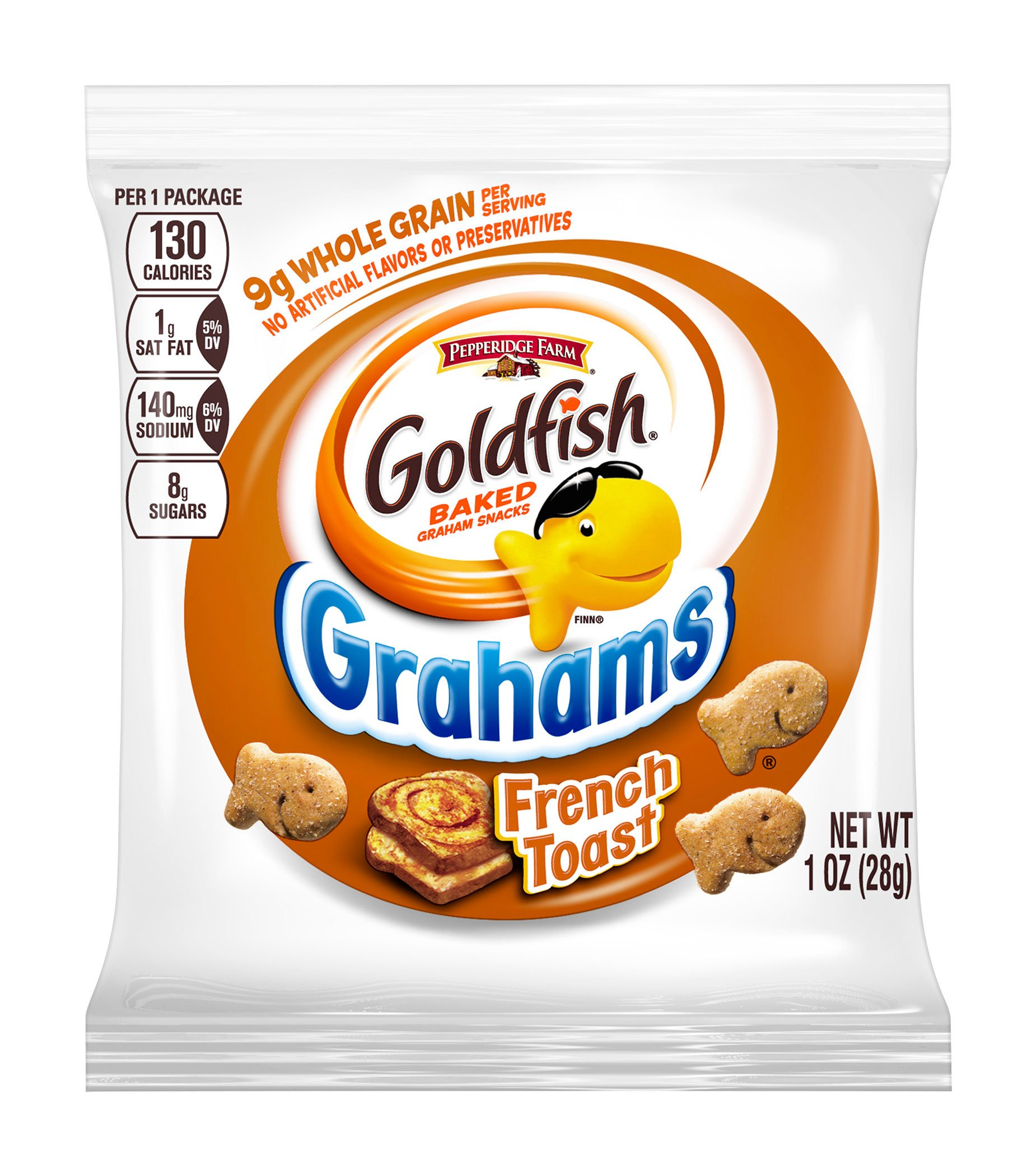 Pepperidge Farm Goldfish Grahams Baked with Whole Grain French Toast