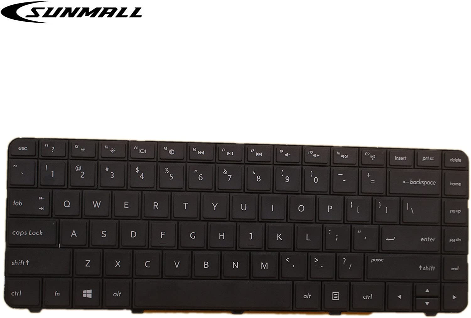 SUNMALL Laptop keyboard replacement for HP Pavilion CQ57 CQ58 G4-1000 G6-1000 2000 2000-100 2000-200 2000-300 2000-2b19wm 2000-2c29nr 2000-2b09wm 2000-2b20nr 2000-2d27dx 2000-2b19wm Series US Layout …