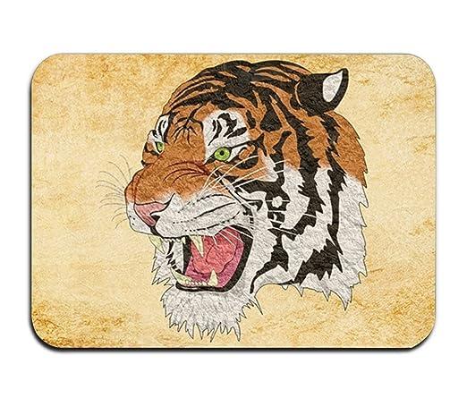 Renee Juliana Alfombrilla para puerta Tiger Cheetah León Animal ...