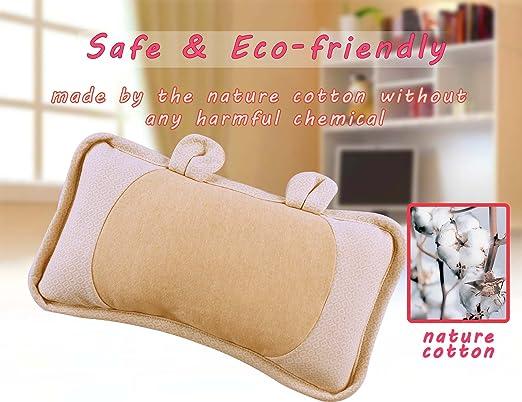 Amazon.com: romanstii bebé almohada naturaleza Cotton Soft ...
