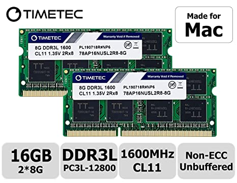 Amazon.com: Timetec Hynix IC - Memoria RAM DDR3 de 1600 MHz ...