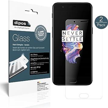dipos I 2X Protector de Pantalla Mate Compatible con OnePlus 5 ...