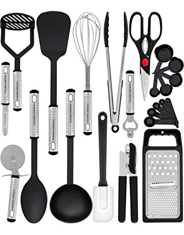 Amazon Com Cooking Utensils Home Kitchen Spatulas Tongs