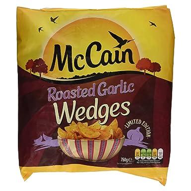 McCain Roast Garlic Wedges, 750g (Frozen): Amazon co uk: Grocery