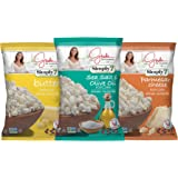 Simply7 with Giada Popcorn, Variety Pack, 3 Count
