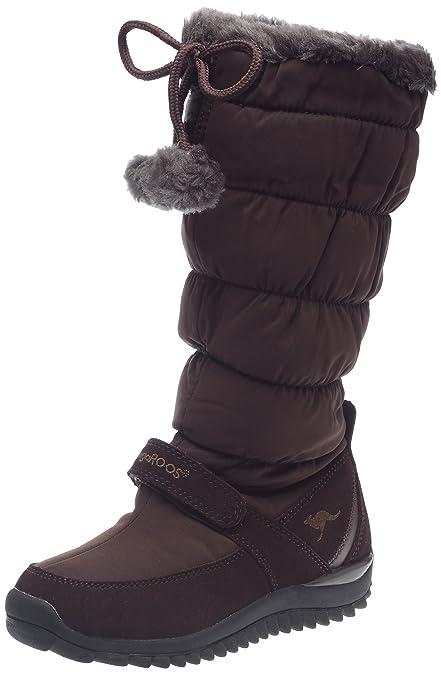 KangaROOS 10699/520, Botas Altas de Nieve Mujer, Marrón (Chocolat), 40 EU