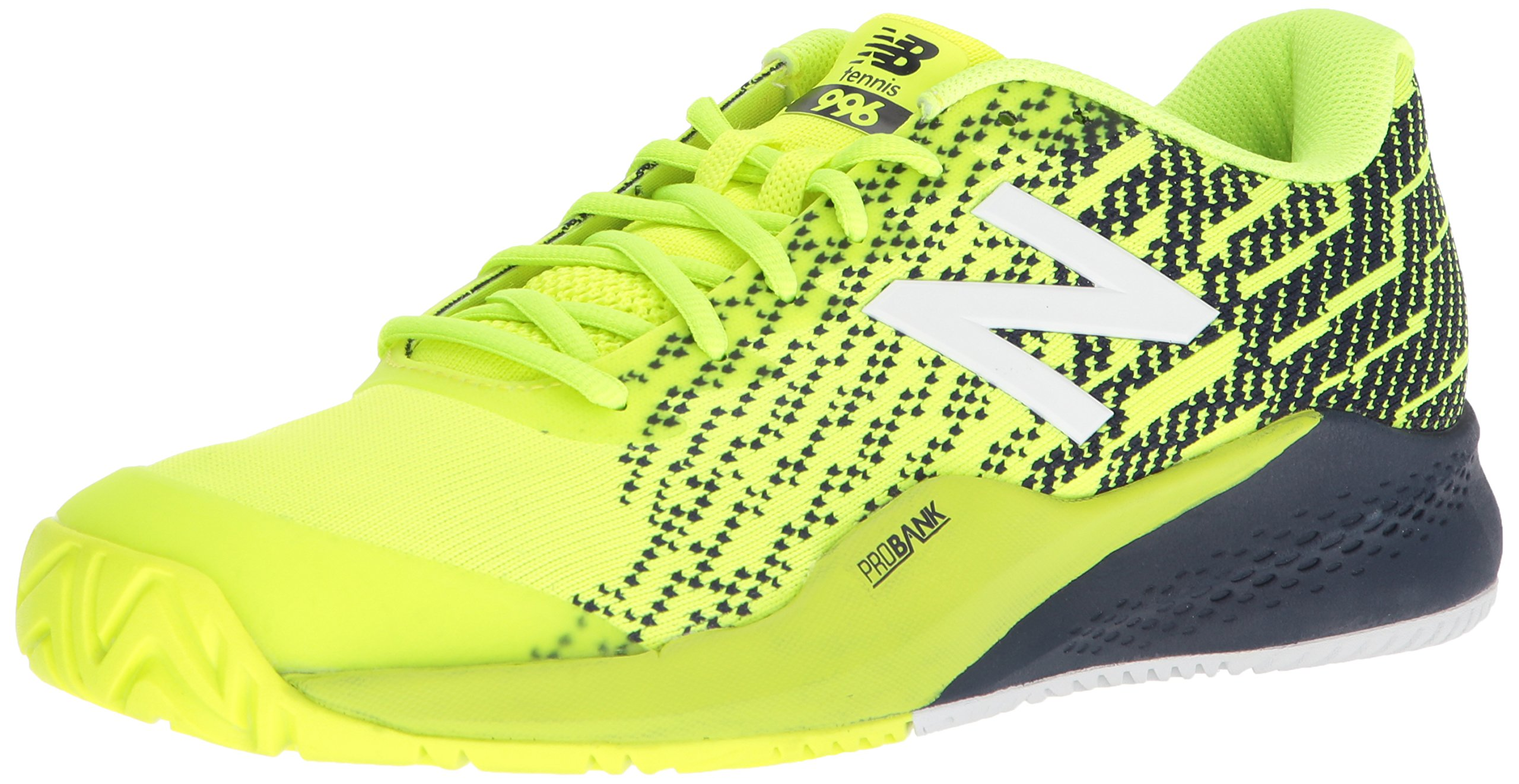 New Balance Men's 996v3 Tennis Shoe, Hi Lite/Pigment, 11 2E US by New Balance