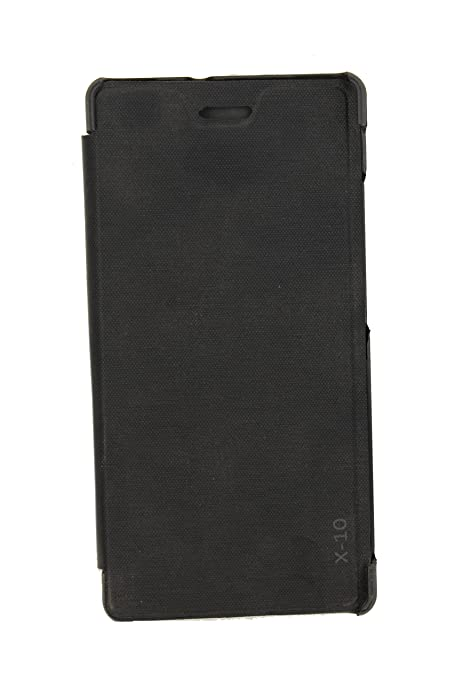 new products 596fa 09d0b X-10 NM023 Flip Cover for Lava X10: Amazon.in: Electronics