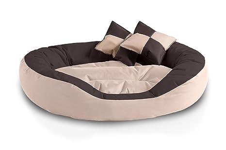 BedDog 4 en 1 SABA beige/marron XL aprox. 85x70cm colchón para perro,