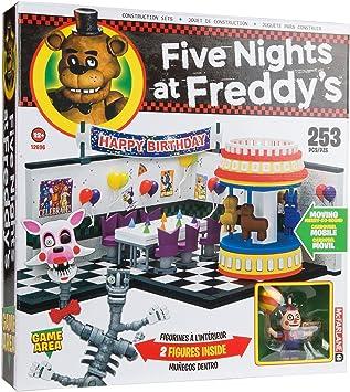Five Nights at FreddyS Game Area Juego de construcción Grande: Amazon.es: Juguetes y juegos