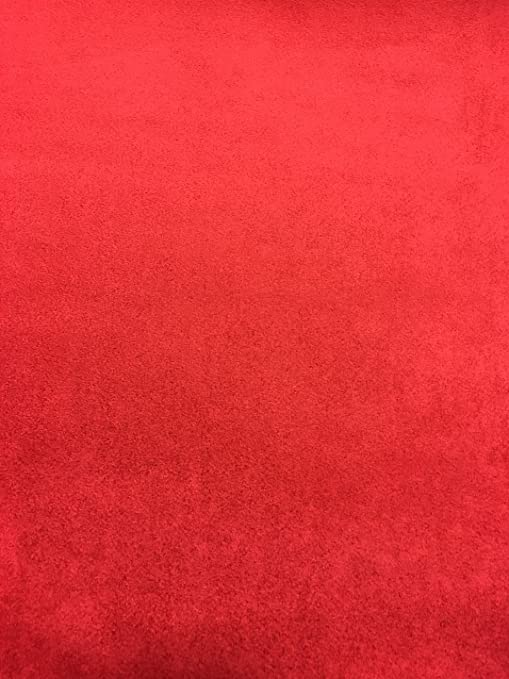 factory outlet store authentic Amazon.com: Red Foam Backed Suede Headliner Fabric 60