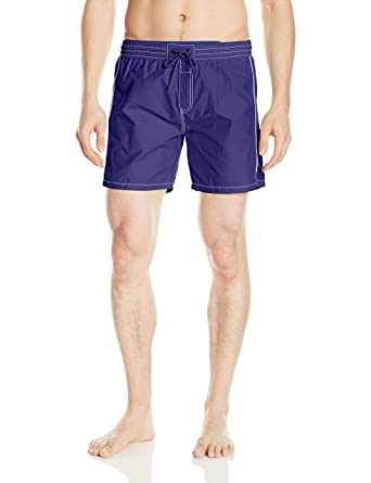 44536aa4a6 Amazon.com: Diesel Men's Dolphin 4 Inch Solid Boxer Swim Short: Clothing