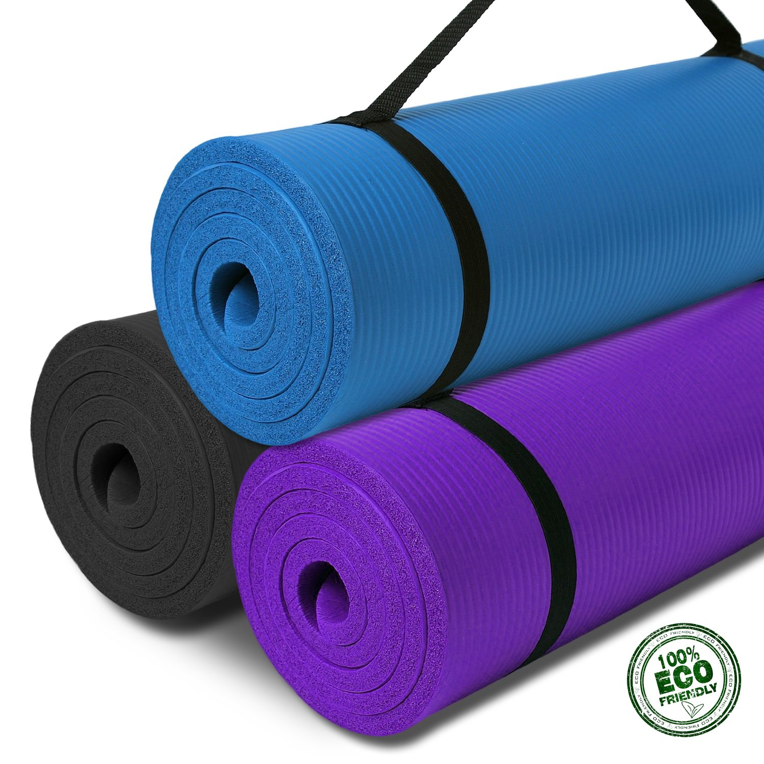 gym physio pilates non interbuys fitness mat s mats product yoga slip thick exercise nbr