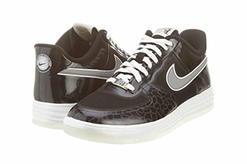 brand new de568 a6fb9 NIKE Lunar Force 1 Fuse City Mens Basketball Shoes 577666-002 Black 10.5 M  US