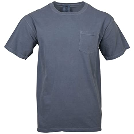 Comfort Colors Men's Adult Short Sleeve Pocket Tee, Style 6030 by Comfort Colors