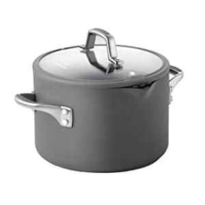 Calphalon Simply Easy System Nonstick Stock Pot and Cover, 6-Quart