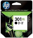 HP 301XL Cartouche d'Encre Noir Grande Capacité Authentique (CH563EE)