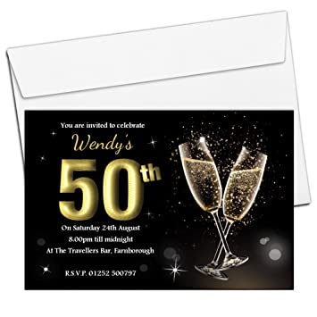imágenes de cheap 50th birthday party invitations uk