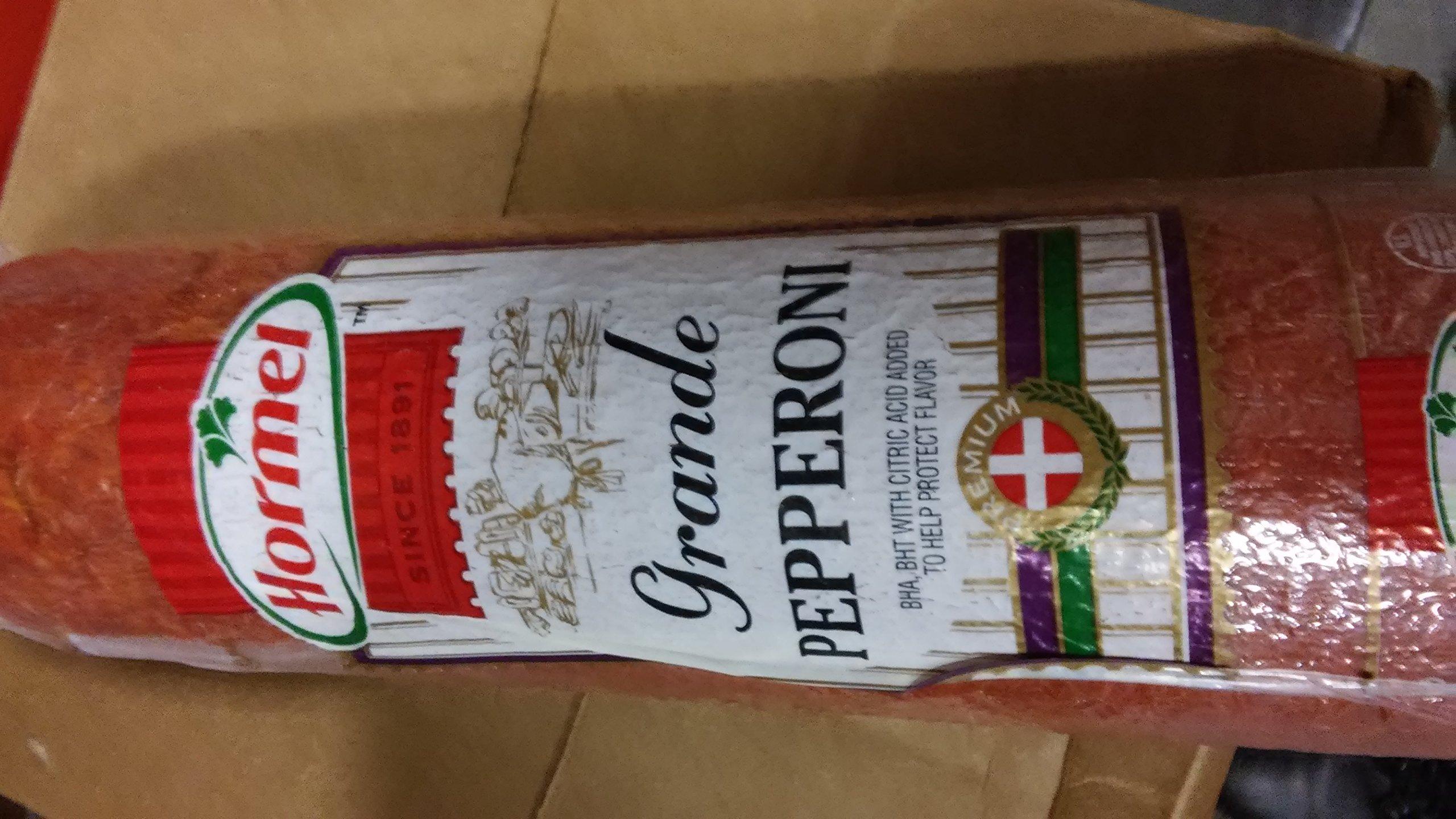 Hormel Grande Pepperoni 5 Lb