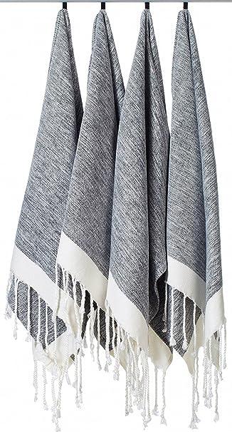 Amazon.com: LaModaHome toalla 100 % algodón para ...