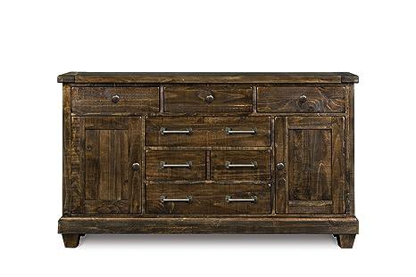 Amazon.com: Magnussen brenley 6 Cajón Dresser – Natural ...
