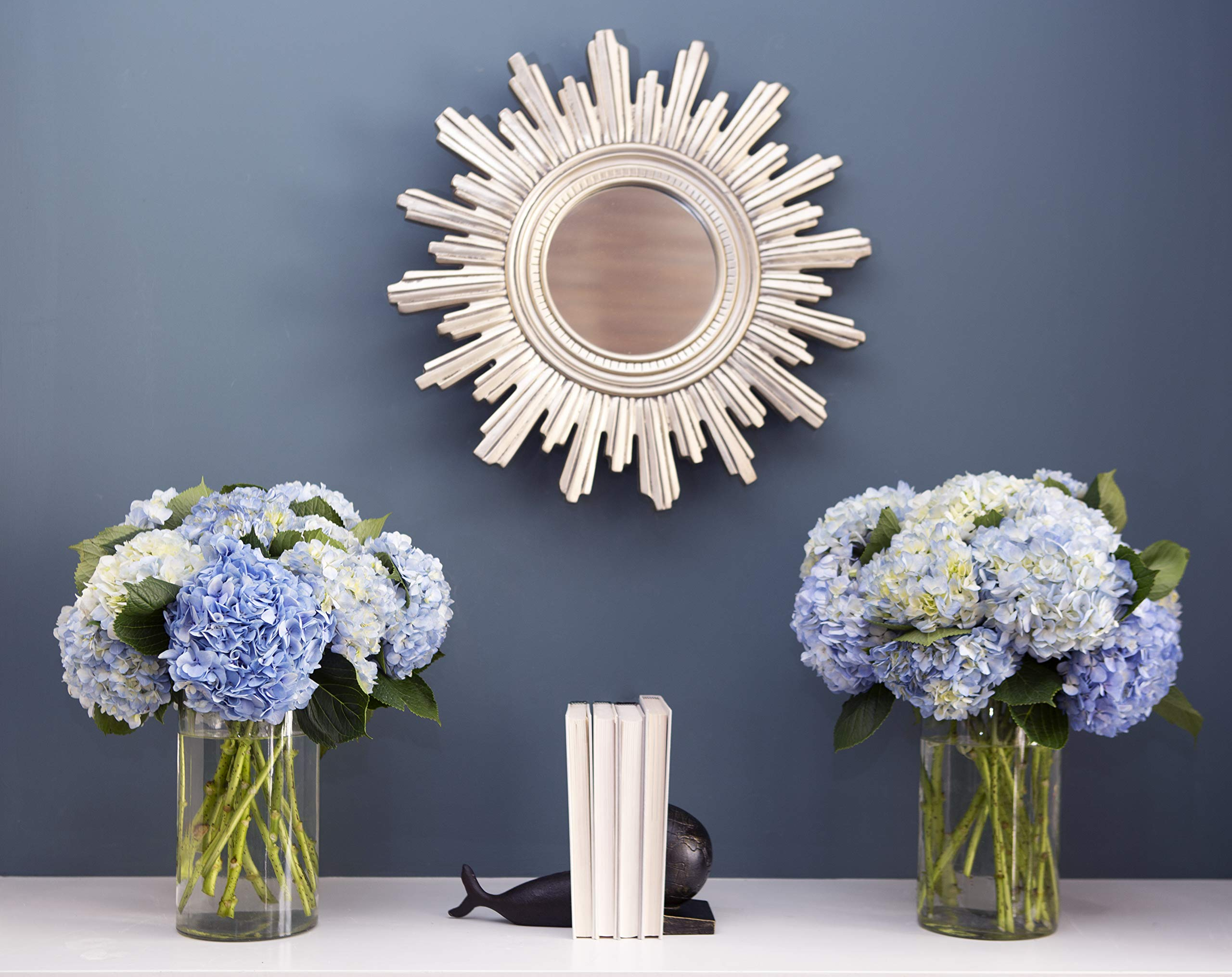 Blooms2Door 30 Blue Hydrangeas (Farm-Fresh, Naturally Colored, Premium Quality) by Blooms2Door (Image #4)