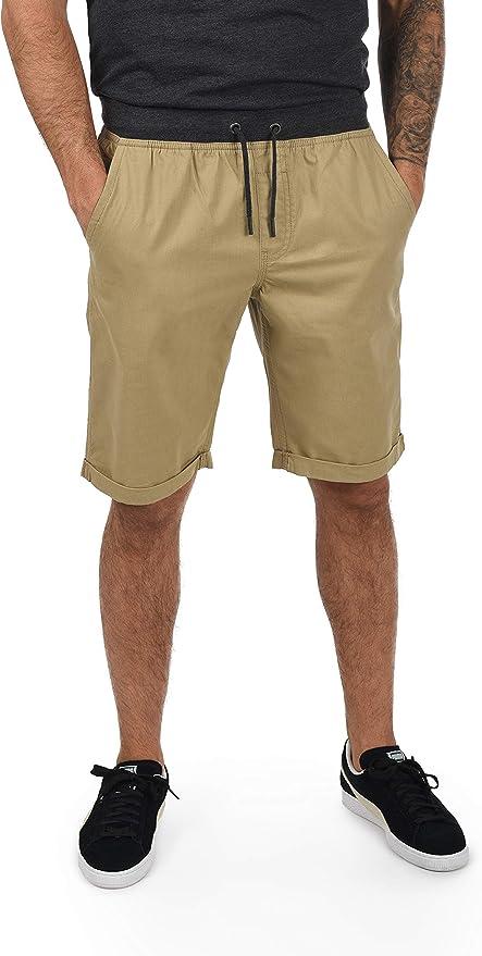 TALLA M. Blend Claude Chino Pantalón Corto Bermuda Pantalones De Tela para Hombre De 100% Algodón Regular-Fit