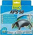 Tetra APS 50 - Pompe à Air pour Aquarium de 10 à 60L à débit réglable - Puissante et silencieuse - Certifiée et garantie 3 ans
