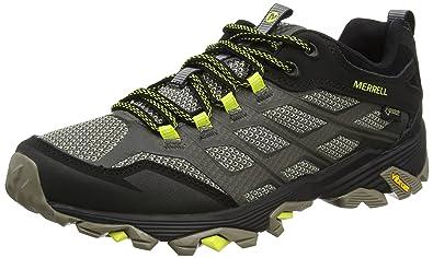 eddcbbc6a1e Merrell Men's Moab FST GTX Low Rise Hiking Boots