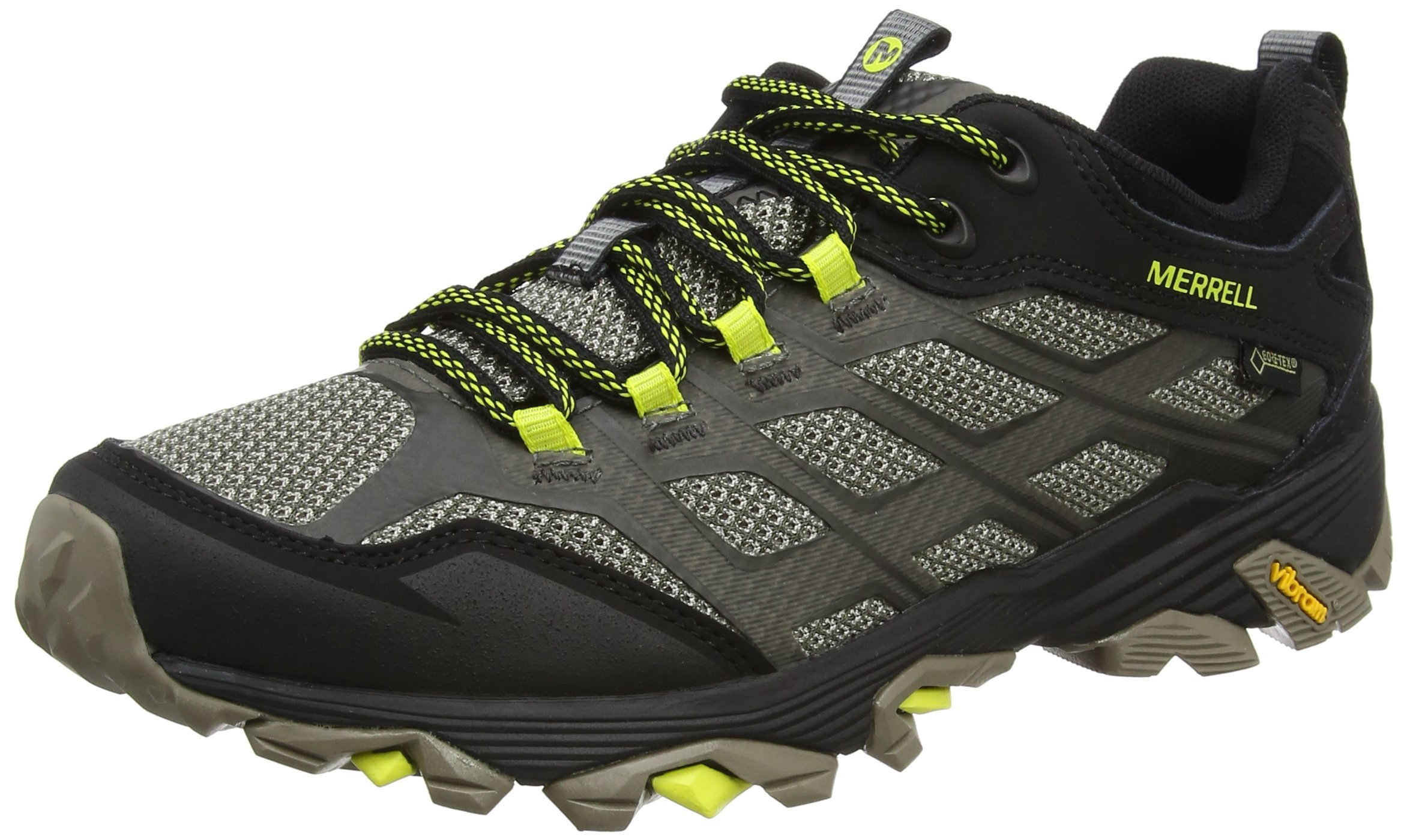 Merrell Moab FST GTX Men's Walking Shoes, Charcoal, US9