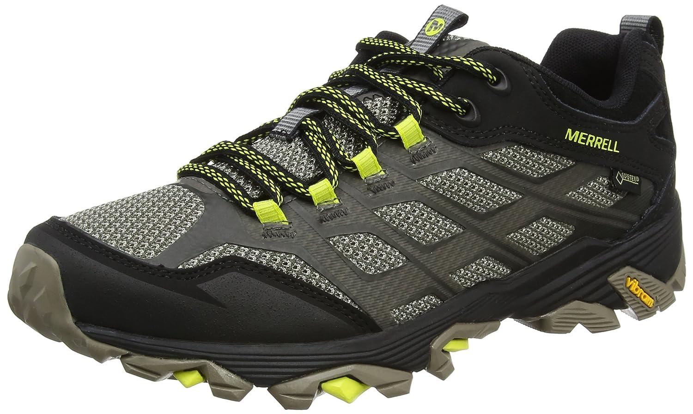 Merrell J37601, Zapatillas de Senderismo Hombre 41 EU|Negro (Olive Black)