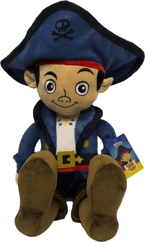 Disney Jake the Never Land Pirates Captain Pillow Pal Buddy Pillowtime Doll, Large