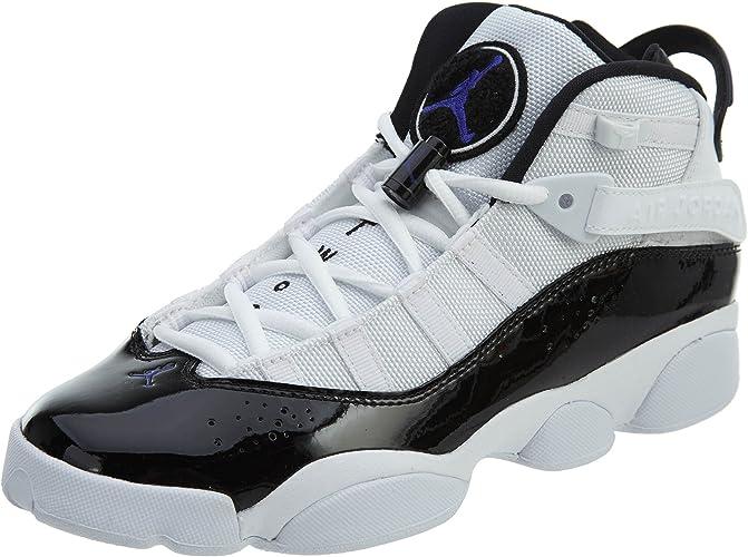 Amazon.com: Jordan Nike Kids 6 anillos BG Zapatillas de ...