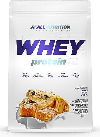 ALLNUTRITION Whey Protein 908g paquete de 1 proteína en polvo ...