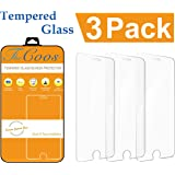 iPhone 6s 6 Screen Protector, TheCoos iPhone 7 6s 6 Tempered Glass Screen Protector For Apple iPhone 7 / 6s / 6 [3 Pack]