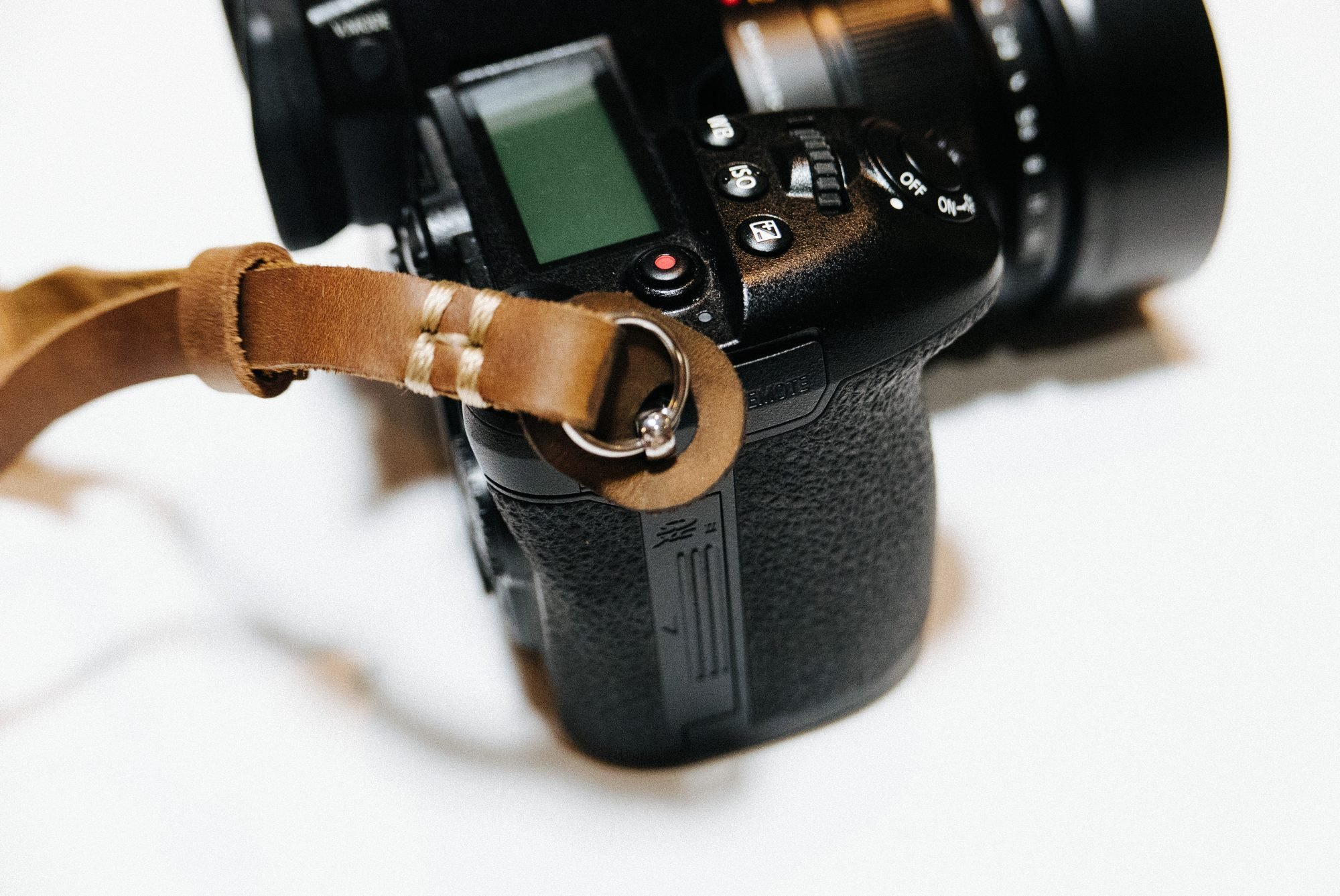 Henri by Eric Kim Handmade Premium Leather Camera Wrist Strap by Eric Kim Photography (Image #3)