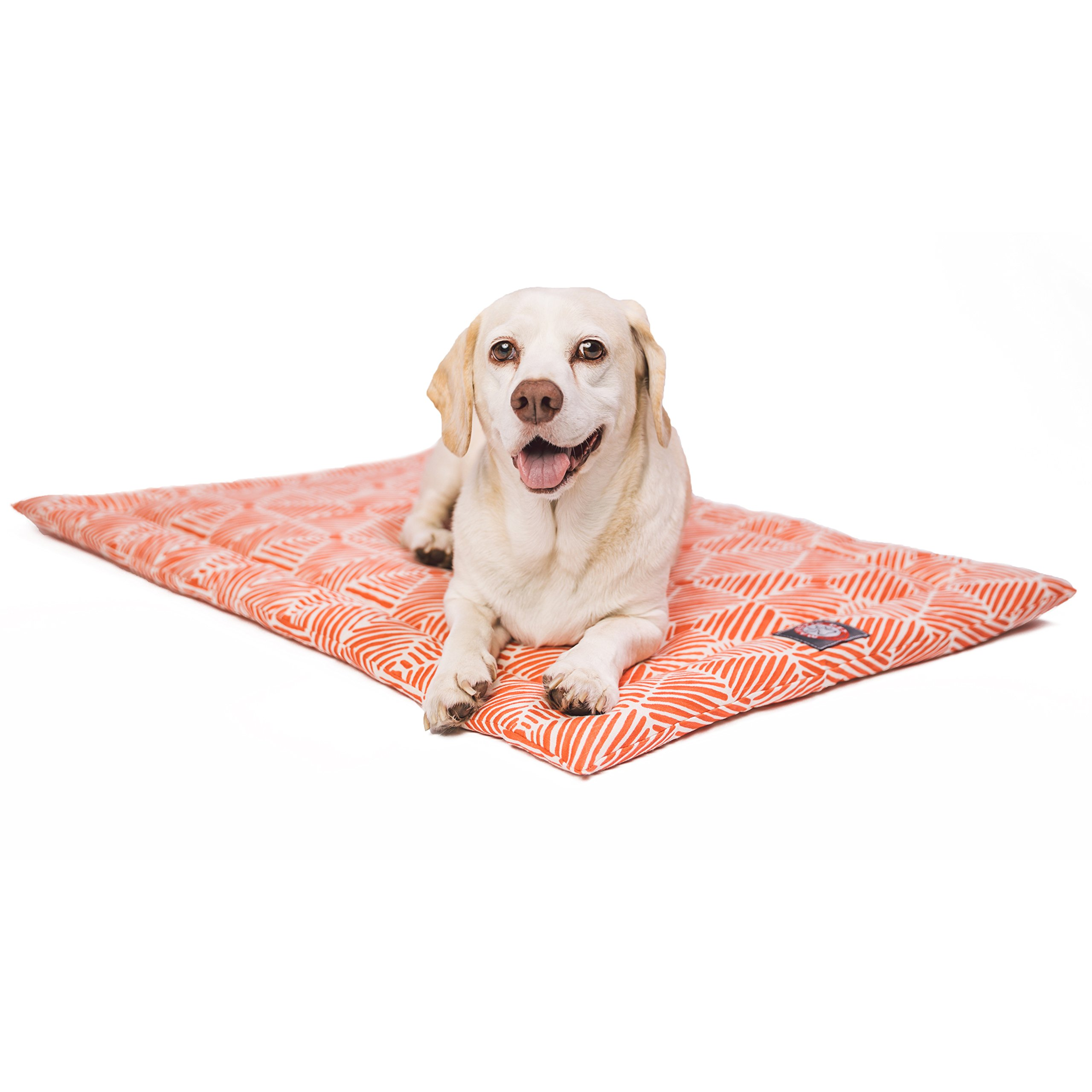 Majestic Pet 24'' Charlie Salmon Orange Crate Dog Bed Mat By Products