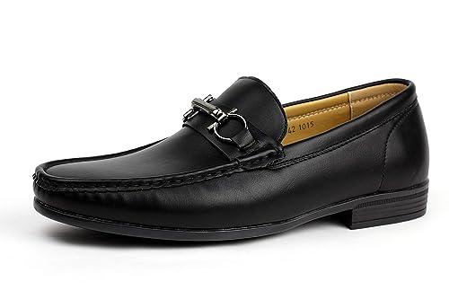 Albertini Caballeros Conducir Antideslizamiento Encendido Zapatos de Diario Elegante Mocasines Piel Sintética Mocasin Estilo: Amazon.es: Zapatos y ...
