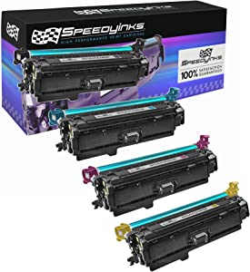 Speedy Inks Remanufactured Toner Cartridge Replacement for HP 651A (1 Black, 1 Cyan, 1 Magenta, 1 Yellow, 4-Pack)