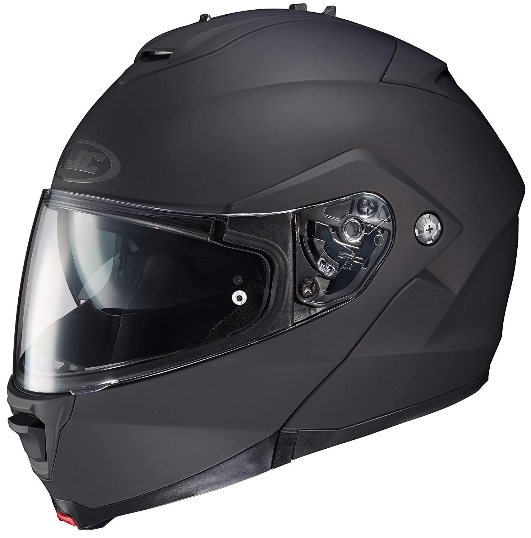 MOTOTOPGUN HJC IS-Max 2 Schwarz-Matt Motorradhelm M Gr/ö/ße