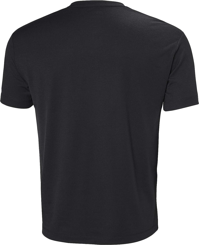 Helly Hansen Men's Skog Graphic T-Shirt T-Shirt 981 Ebony