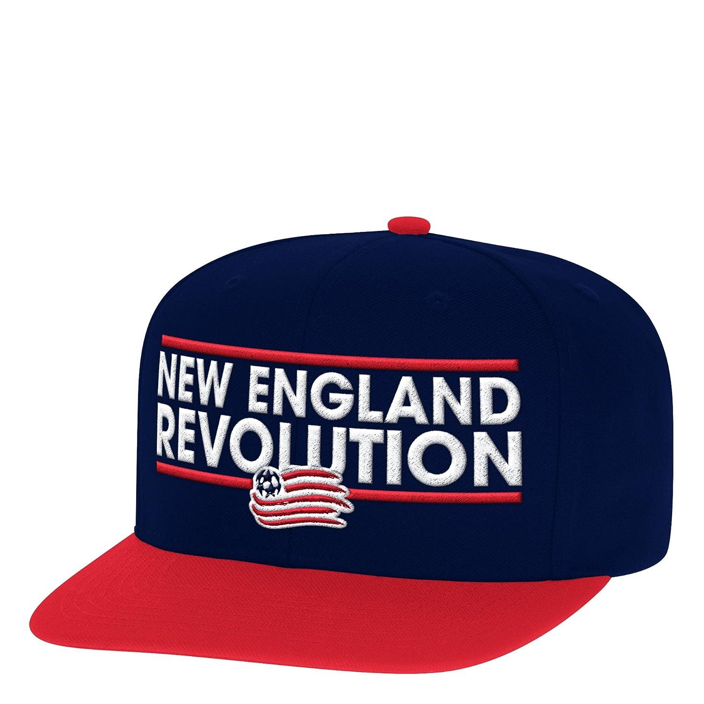 One Size adidas MLS Chicago Fire Mens Dassler Flat Brim Snapback Hat Red