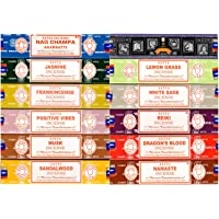 Bulk Mix - SATYA NAG Champa Incense 15GMS - 12 Packs