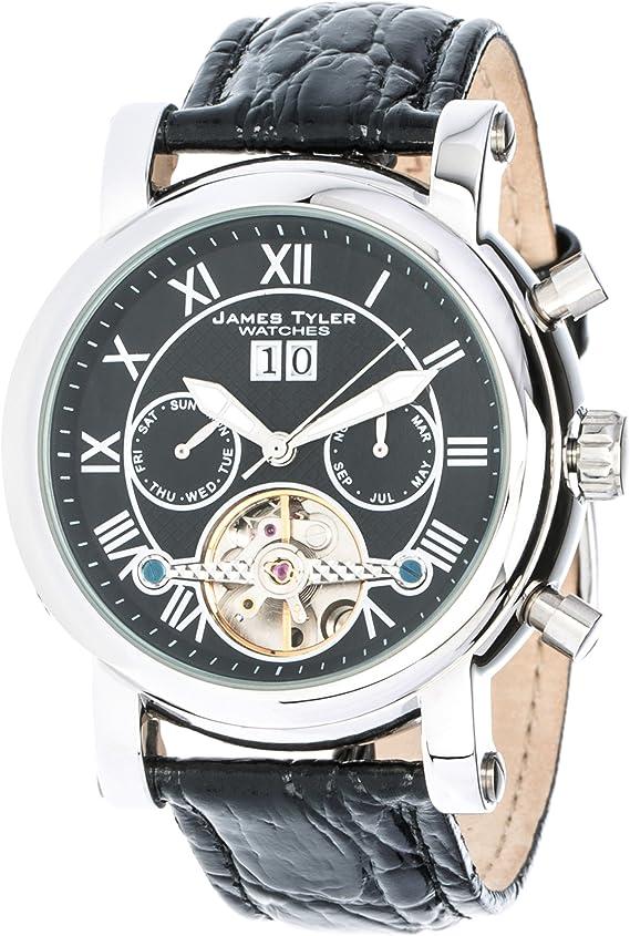 James Tyler Herren Armbanduhr Automatik Chronograph Mit Kalender Jt700 1 Amazon De Uhren