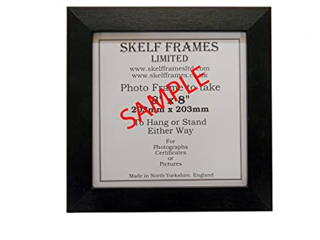 Brushed Black Polcore Square Photo Picture Frame 5x5 Amazon