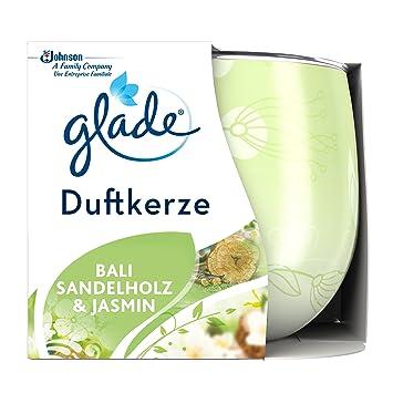 Glade Duftkerze Bali Sandelholz Jasmin 120 G Amazonde Drogerie