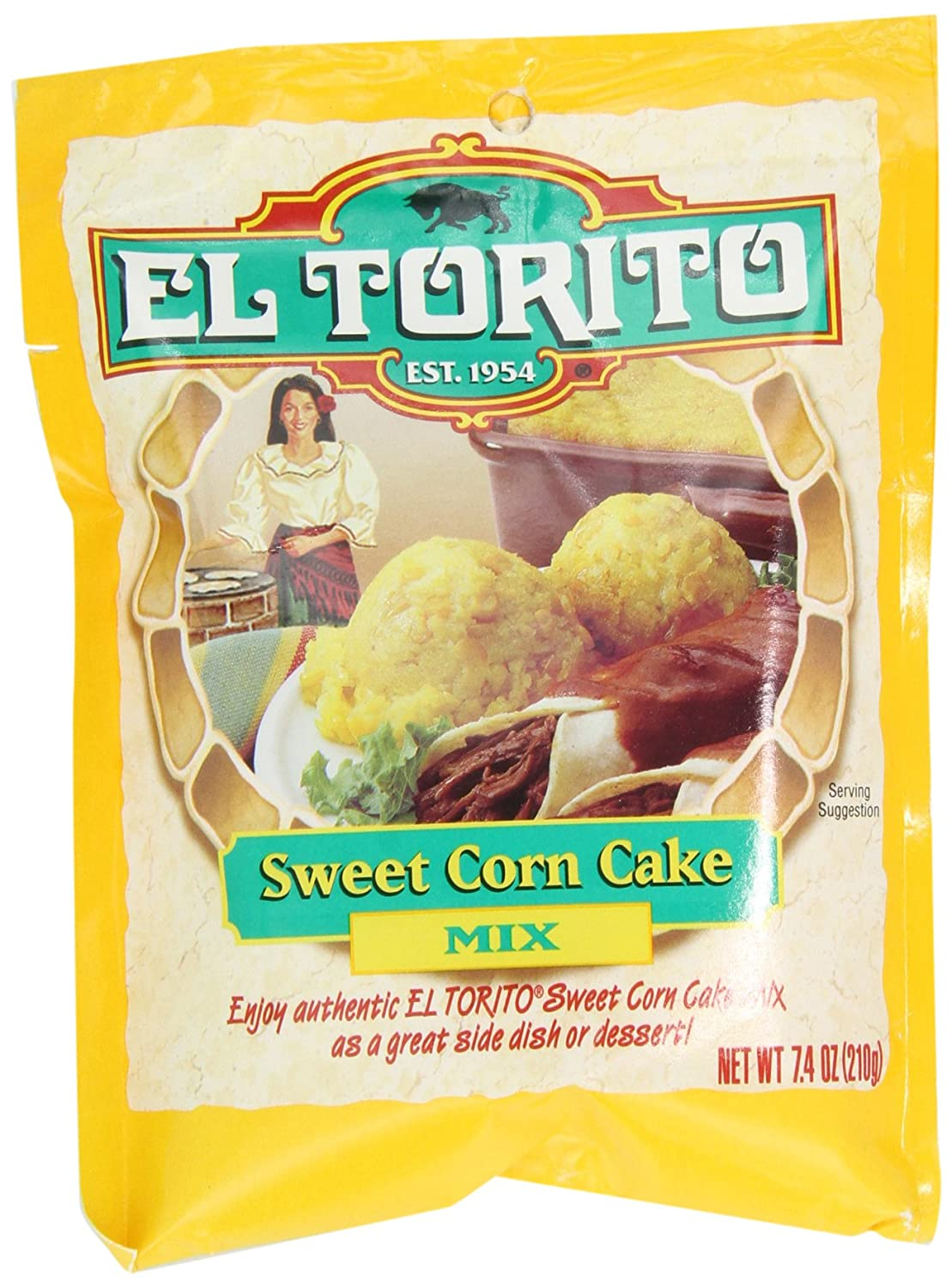 Amazon.com : El Torito Sweet Corn Cake Mix, 7.4-Ounce Packages (Pack of 12) : Grocery & Gourmet Food