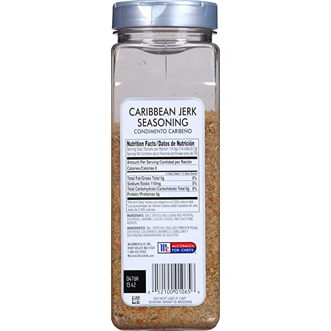 Mccormick Jerk Seasoning, Caribbean, 18-Ounce: Amazon.ca: Grocery
